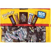 Mars Candy Variety Pack 105 Pieces