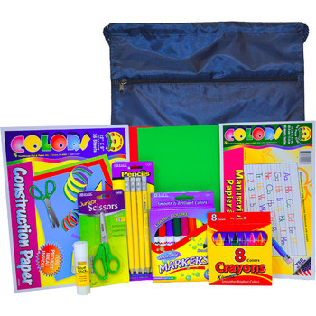 Pre-K and K School Supply Kit with Bag