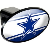 Dallas Cowboys Oval Trailer Hitch Cover