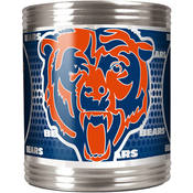 Chicago Bears Stainless Steel Can Holder with Metallic Graphics
