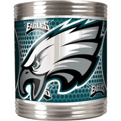 Philadelphia Eagles Stainless Steel Can Holder with Metallic Graphics