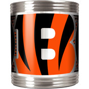 Cincinnati Bengals Stainless Steel Can Holder with Metallic Graphics