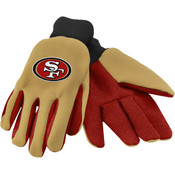 San Francisco 49er's Work / Utility Gloves