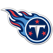 Tennessee Titans Vinyl Magnet