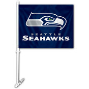 Seattle Seahawks Car Flag