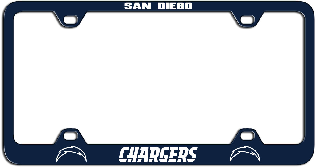 Wholesale San Diego Chargers Laser License Plate Frame