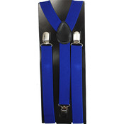 Men's Dark Blue Suspenders