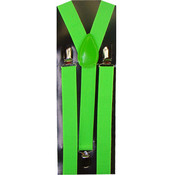 Men's Green Suspenders
