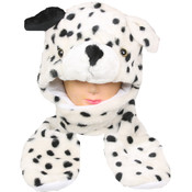 Dalmatian Dog Animal Winter Hat with Mittens