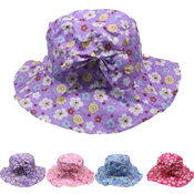 Children's Bucket Summet Hat with Bow