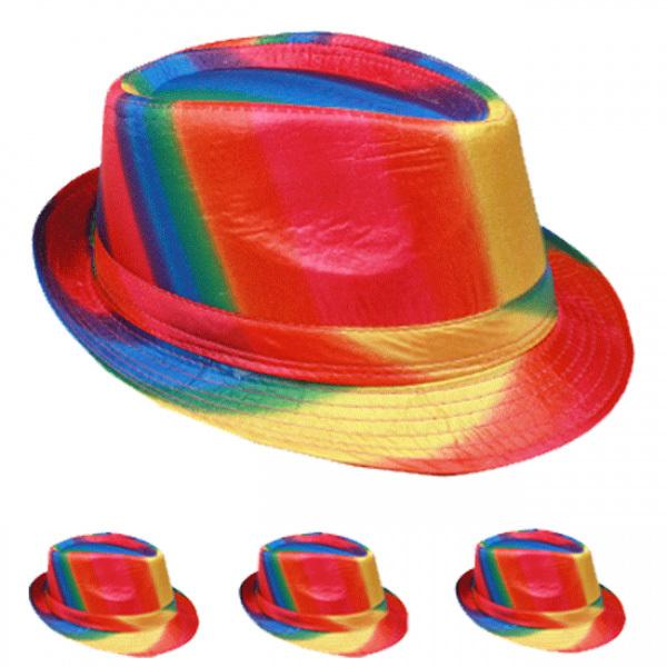 b8883c56dce46c Wholesale Rainbow Fedora Hat (SKU 1875514) DollarDays