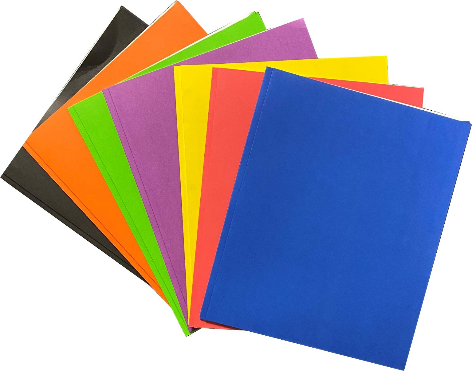 Wholesale 2 Pocket Paper Portfolios With Prongs (SKU