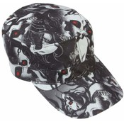 Casual Outfitters Red Eye Skull Design Cap