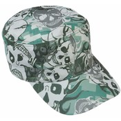 Casual Outfitters Grey Skull Camo Design Cap