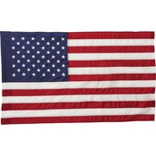 "4' x 30"" United States Flag and 2 piece Wood Pole Kit"