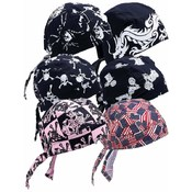 Diamond Plate Assorted Cotton Skull Cap Set