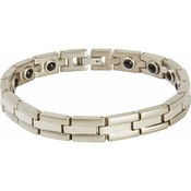 Navarre Stainless Steel Bracelet with Magnets