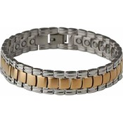 Navarre  Stainless Steel Bracelet with Magnets #2MGM
