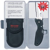 Lockback Knife with Pouch