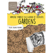 Kathy Ireland Adult Coloring Book - Gardens