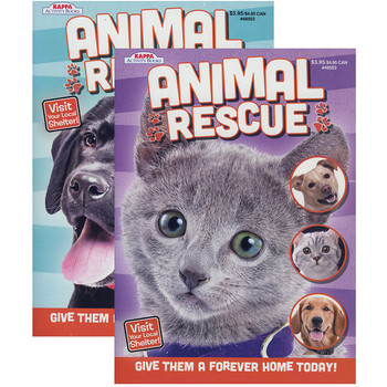 KAPPA Animal Rescue Coloring Activity Book