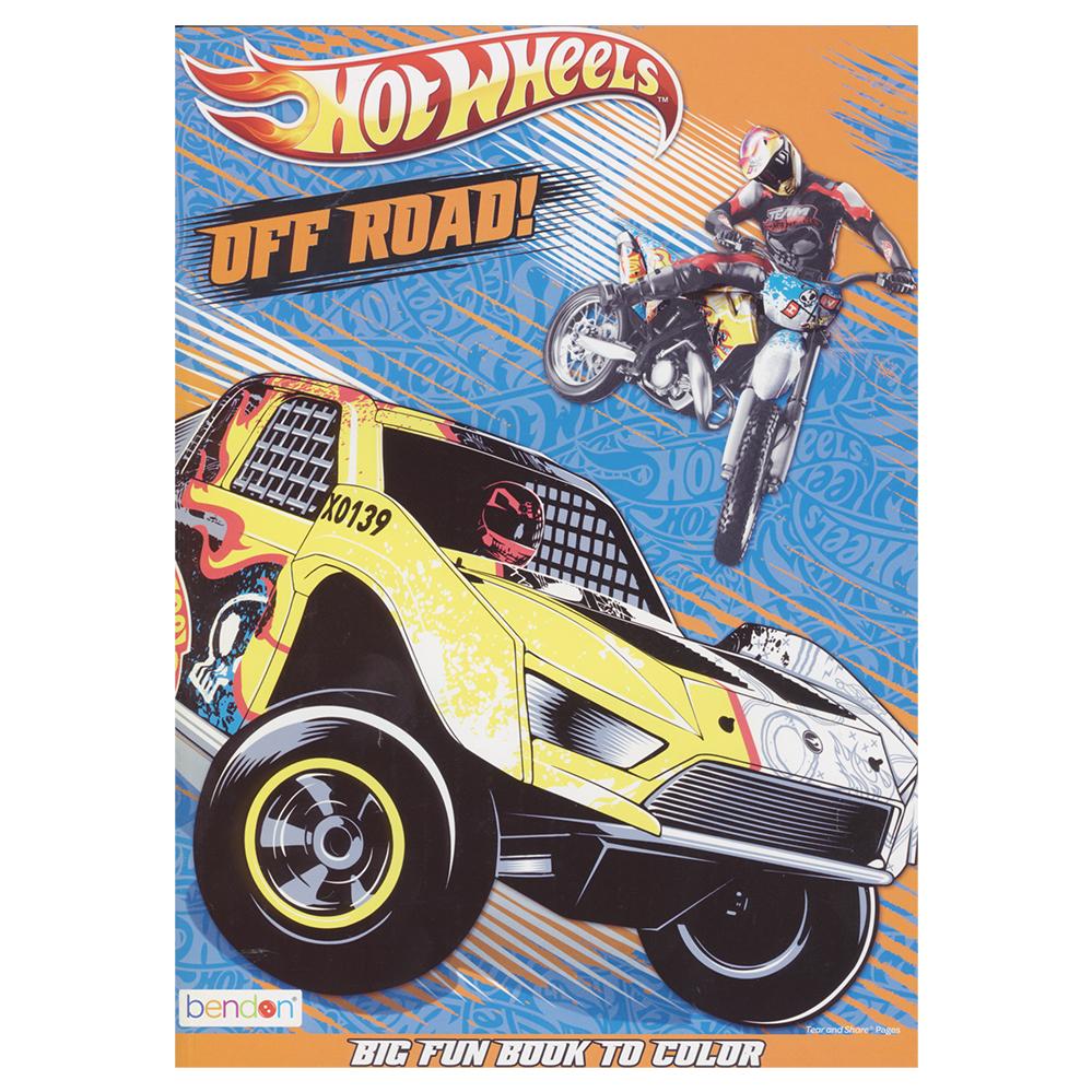- Wholesale Hot Wheels Jumbo Coloring And Activity Book (SKU 2315709