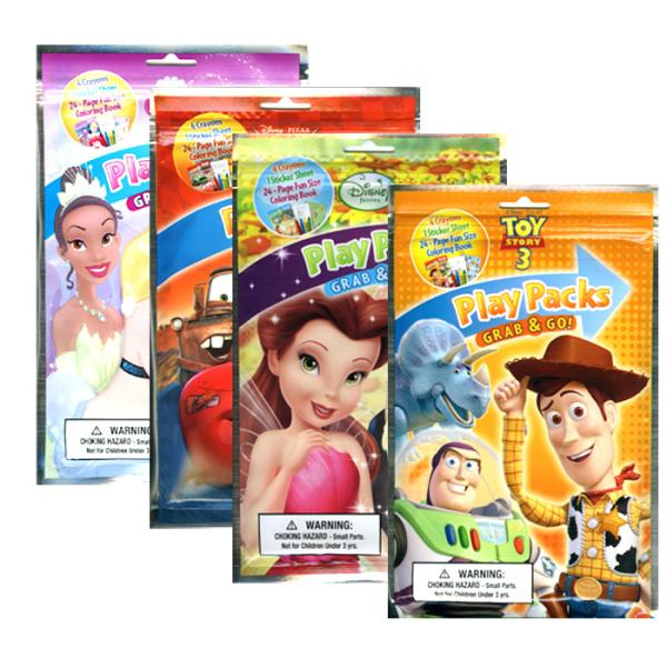 Wholesale Disney Grab And Go Playpacks Sku 782019 Dollardays