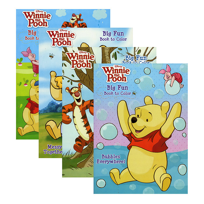 - Wholesale Winnie The Pooh Coloring Book - Big Fun! (SKU 2326945) DollarDays
