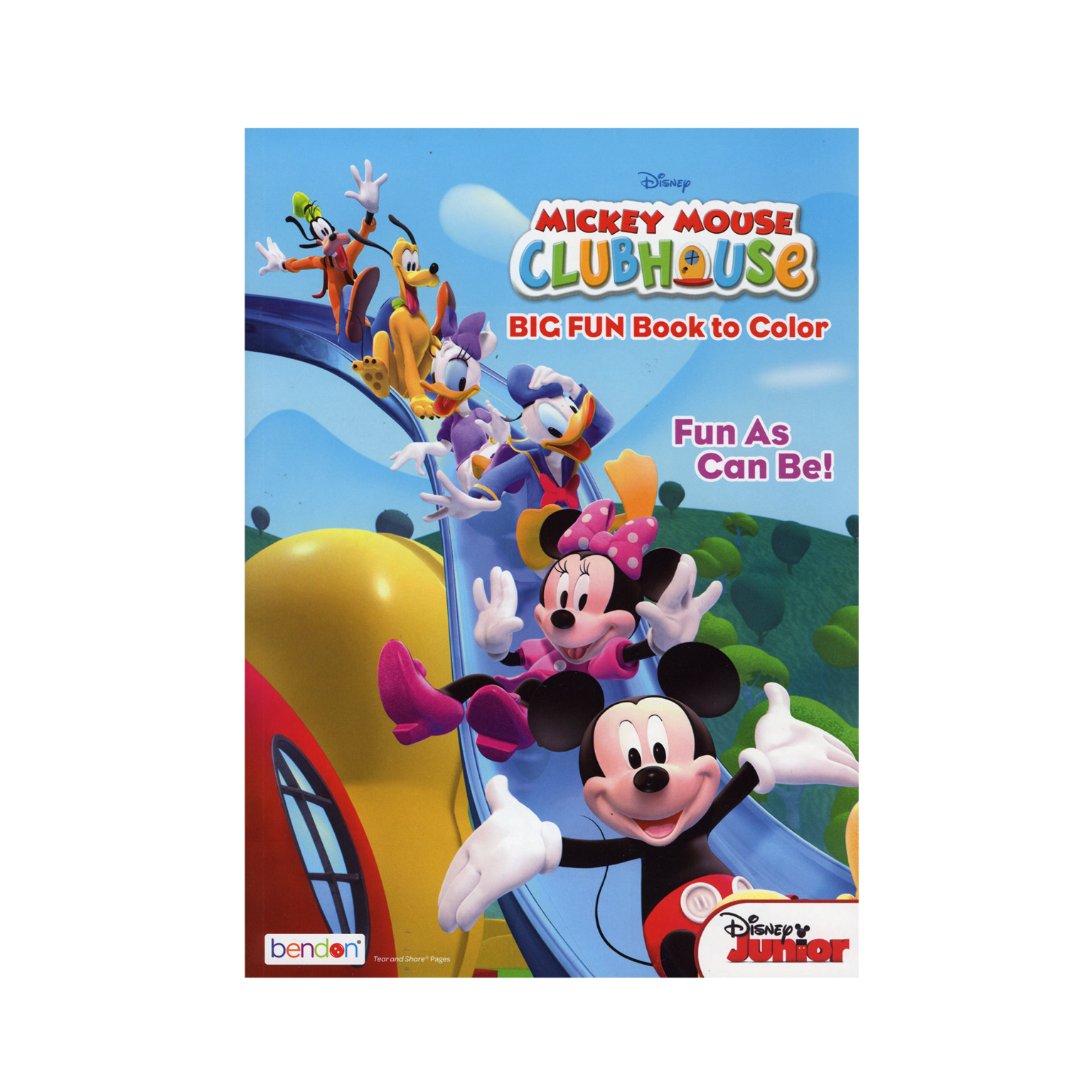 - Wholesale Mickey Mouse Clubhouse Coloring Book (SKU 2327749) DollarDays