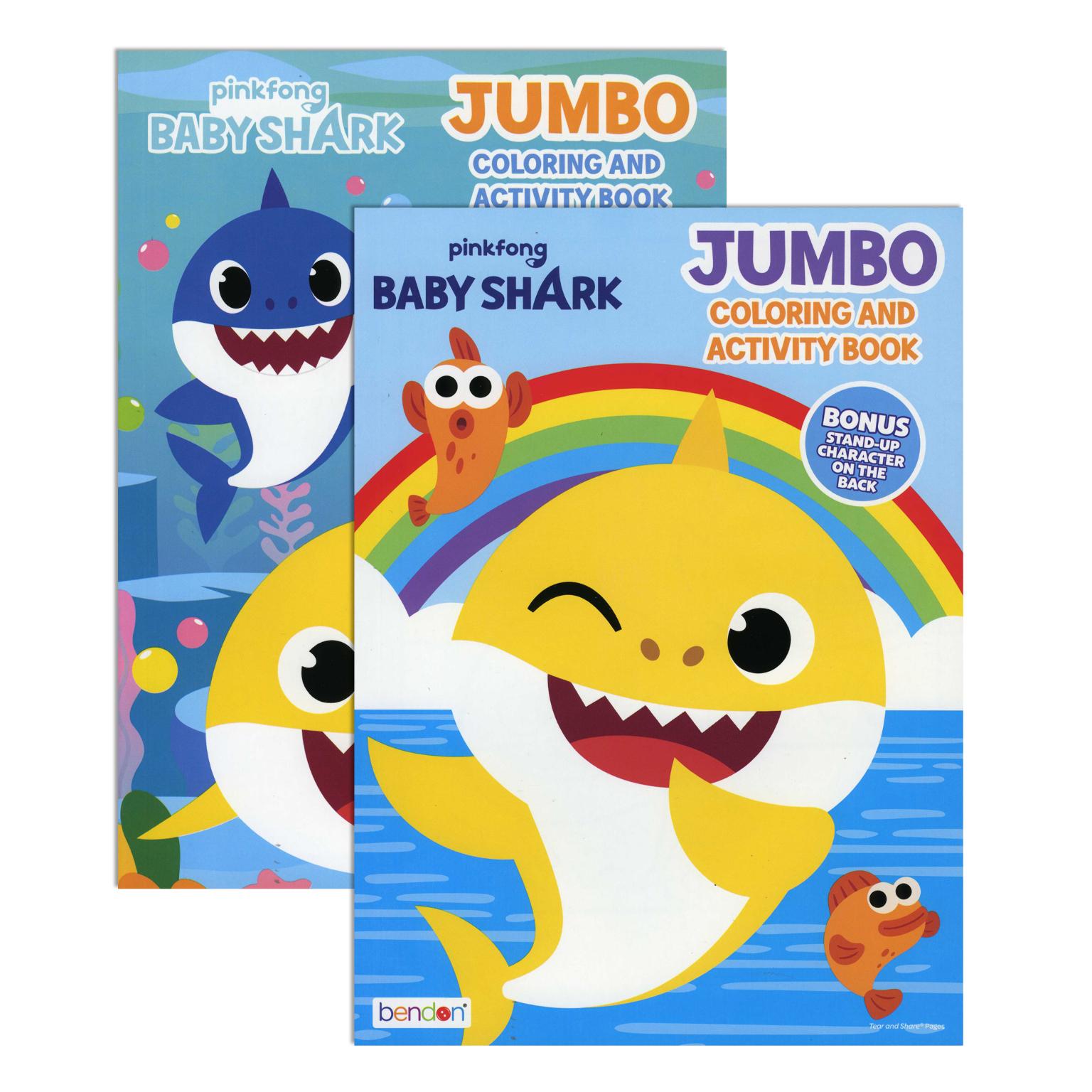 Wholesale Baby Shark Jumbo Coloring Activity Book (SKU ...