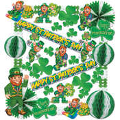 St Patrick Decorating Kit - 38 pieces