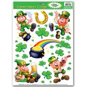 Leprechaun/Shamrock Clings