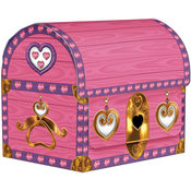 Princess Treasure Chest Favor Boxes