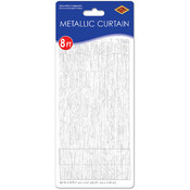1-Ply FR Gleam 'N Curtain - White