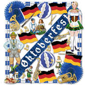 Oktoberfest Decorating Kit - 36 pieces