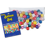 "Plastic Balloon Bag with Balloons - 3' x 6' 8""(Case of 24)"