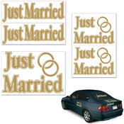 Just Married Auto-Clings