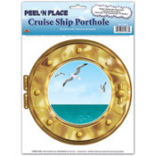 Cruise Ship Porthole Peel 'N Place