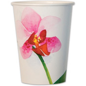 Wholesale Printed Party Cups - Discount Floral Party Cups - Bulk Patterned Party Cups