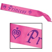Princess Satin Sash