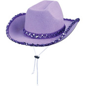 Sequined Cowgirl Hat
