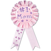 #1 Mom Award Ribbon #31406