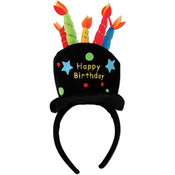 Plush Birthday Cake Headband