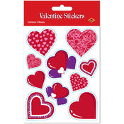Wholesale Valentine Stickers - Wholesale Valentine Heart Stickers