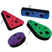 Plastic Metallic Noisemakers - Assorted Colors