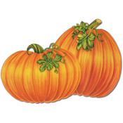 Packaged Pumpkin Cutouts - Printed 2 Sides #68899