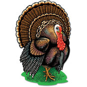 Fall/Thanksgiving Turkey Cutouts - 17""