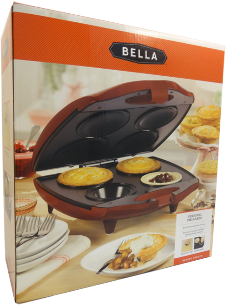 Sensio upc barcode for Bella personal pie maker recipes