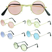 Children's Round Assorted Color Sunglasses