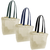 Woven Bags with Black handle